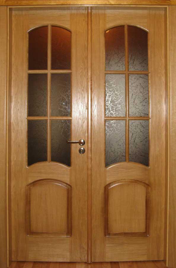 Двустворчатые межкомнатные двери 66 фото однопольные и двойные двупольные модели размеры двустворчатых конструкций