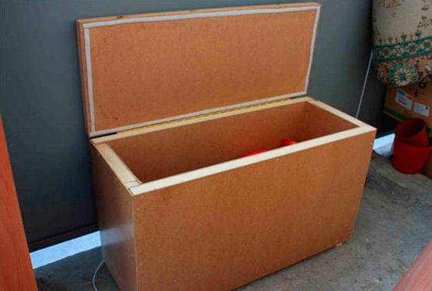 Ящик для хранения овощей в квартире
