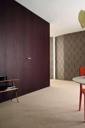Скрытые двери 61 фото межкомнатные изделия под покраску с коробом в интерьере интересные варианты-невидимки с коробкой в стене