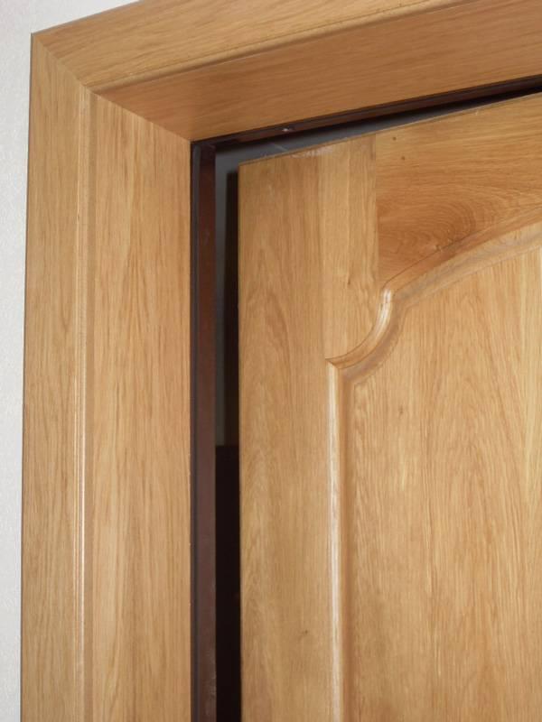 Монтаж дверной коробки с добором